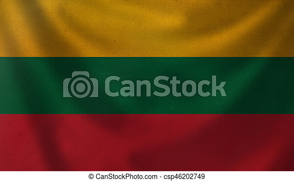 Flag of Lithuania. - csp46202749