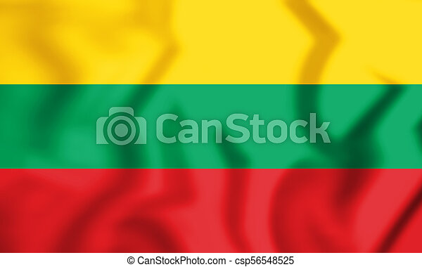 Flag of Lithuania - csp56548525
