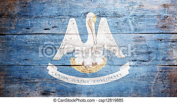 Flag of Louisiana - csp12819885