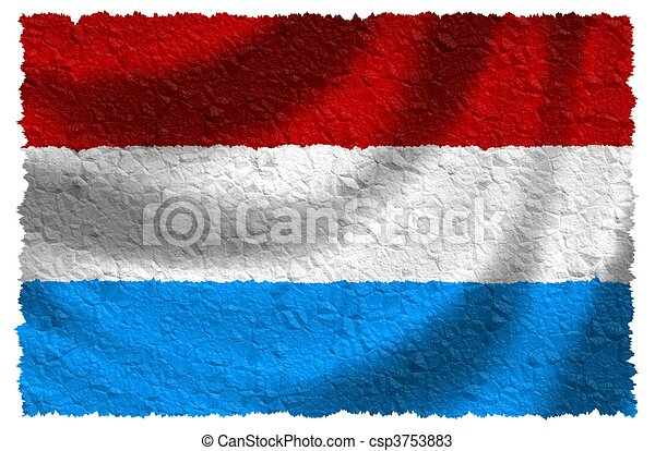Flag of Luxembourg - csp3753883