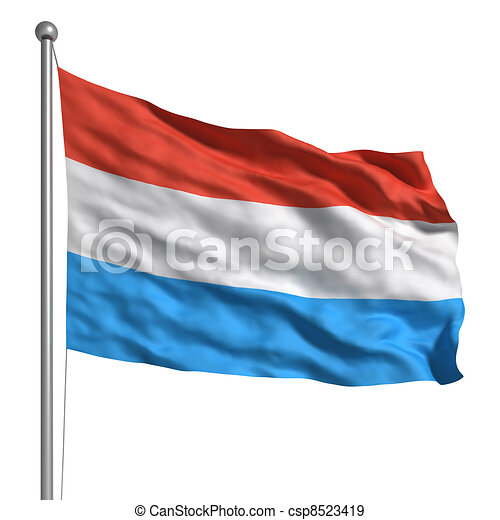 Flag of Luxembourg - csp8523419