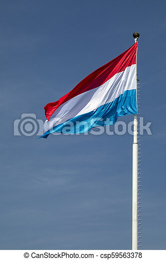 Flag of Luxembourg - csp59563378