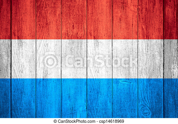 flag of Luxembourg - csp14618969