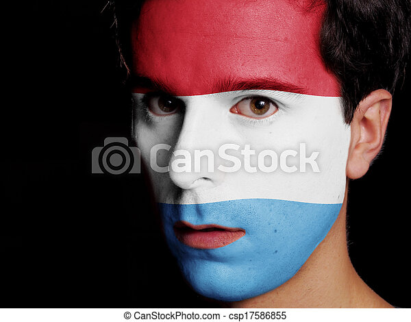 Flag of Luxembourg - csp17586855