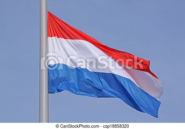 flag of Luxembourg - csp18858320