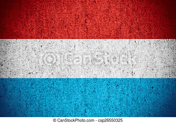 flag of Luxembourg - csp26550325