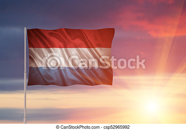 flag of Luxembourg - csp52965992