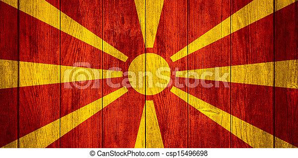 flag of Macedonia - csp15496698