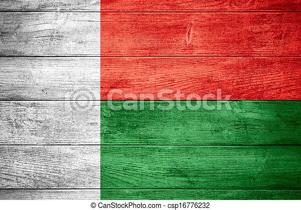 flag of Madagascar - csp16776232
