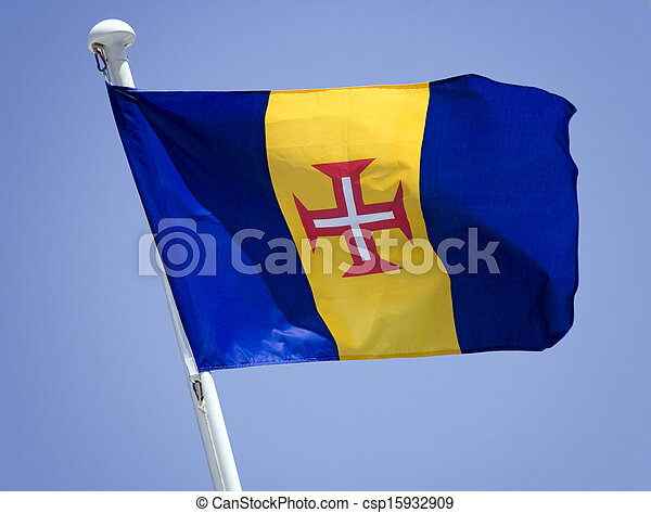 Flag of Madeira - csp15932909