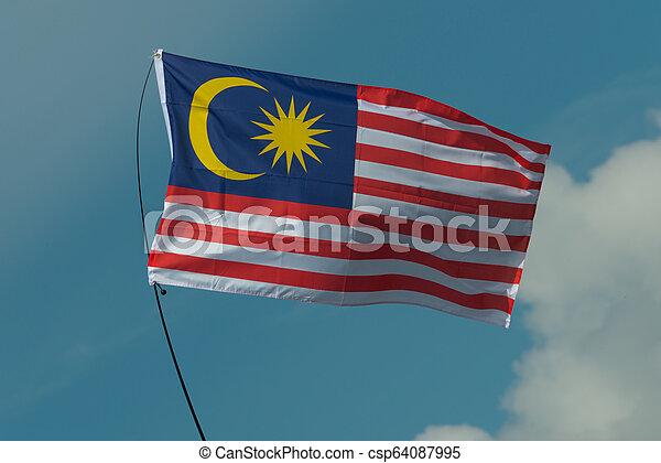 Flag of Malaysia - csp64087995