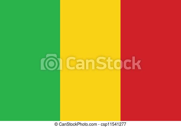 Flag of Mali - csp11541277