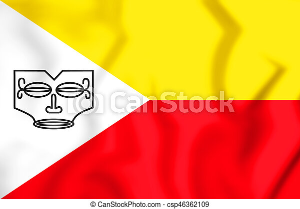 Flag of Marquesas Islands - csp46362109
