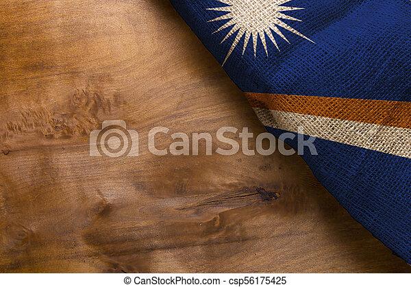 Flag of Marshall Islands - csp56175425