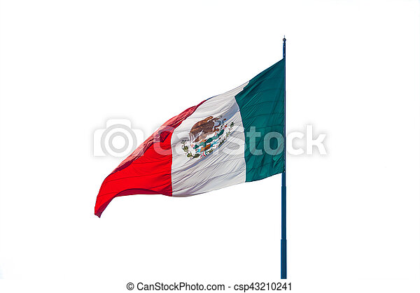 Flag of Mexico - csp43210241