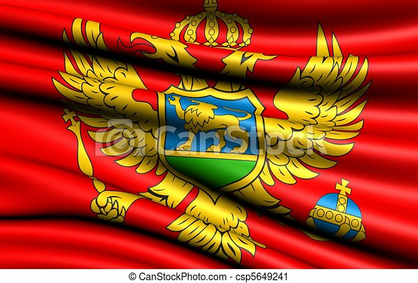 Flag of Montenegro - csp5649241