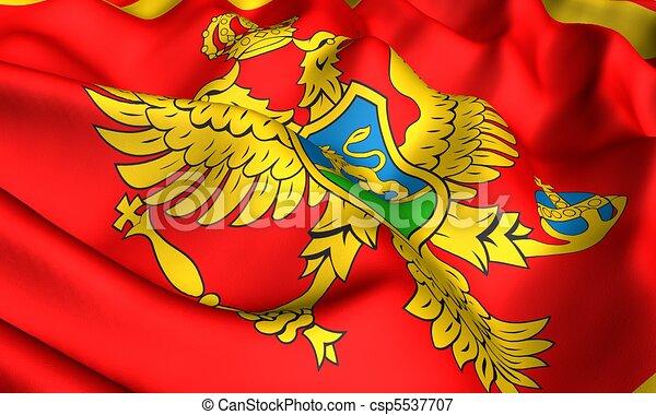 Flag of Montenegro - csp5537707