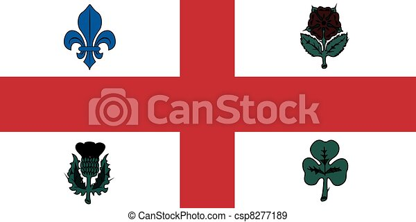 Flag of Montreal - csp8277189
