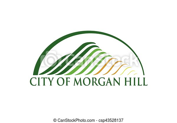 Flag Of Morgan Hill California Usa Vector Format