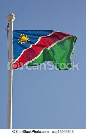 Flag of Namibia - csp15905643