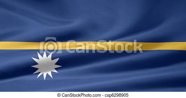 Flag of Nauru - csp6298905