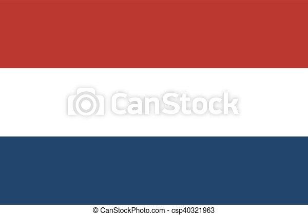 Flag of Netherlands - csp40321963