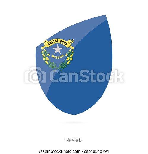 Flag of Nevada. - csp49548794