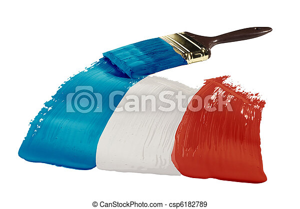 Flag of New Caledonia - csp6182789
