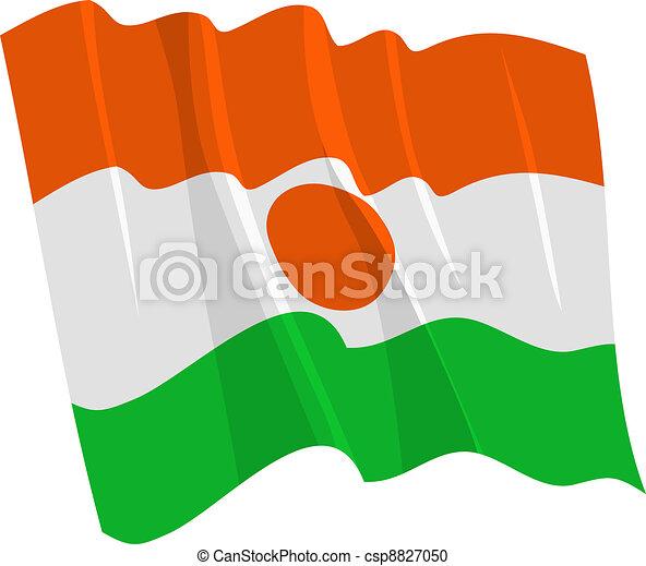 flag of Niger - csp8827050