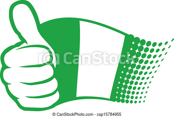 flag of nigeria - csp15784955