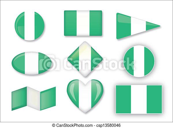 flag of Nigeria - csp13580046