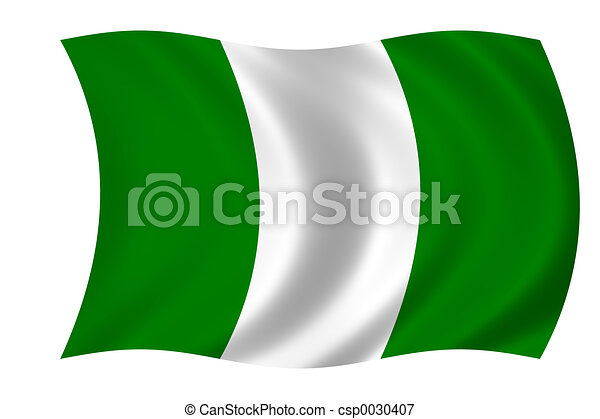 flag of nigeria - csp0030407