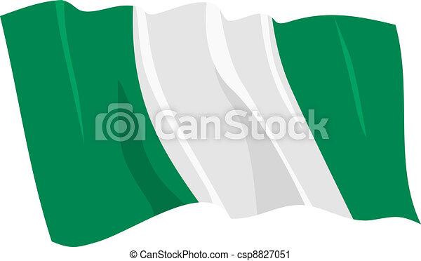 flag of Nigeria - csp8827051
