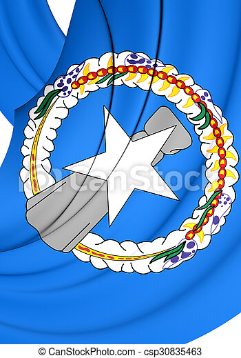 Flag of Northern Mariana Islands - csp30835463