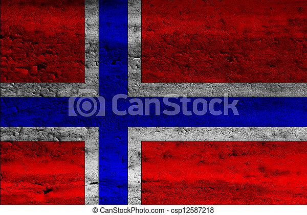 Flag of Norway - csp12587218