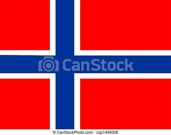 Flag Of Norway - csp1449308