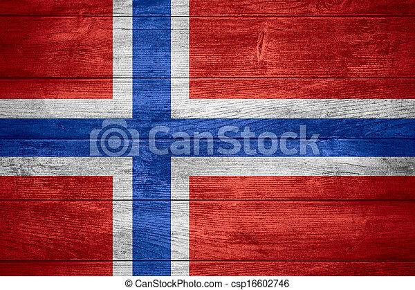 flag of Norway  - csp16602746
