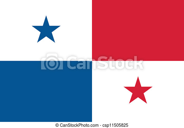 Flag of Panama - csp11505825