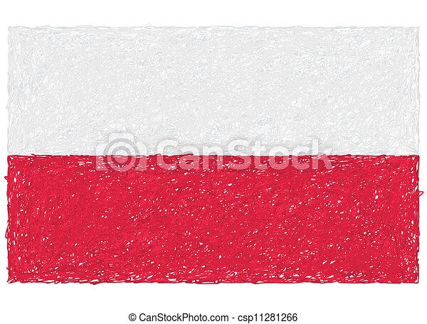 flag of poland - csp11281266