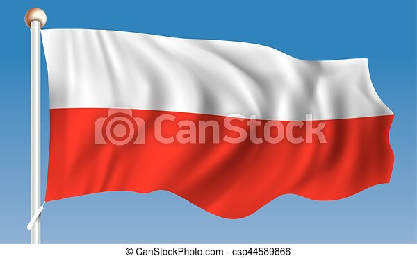 Flag of Poland - csp44589866