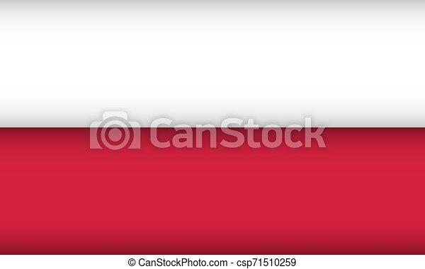 Flag of Poland. - csp71510259
