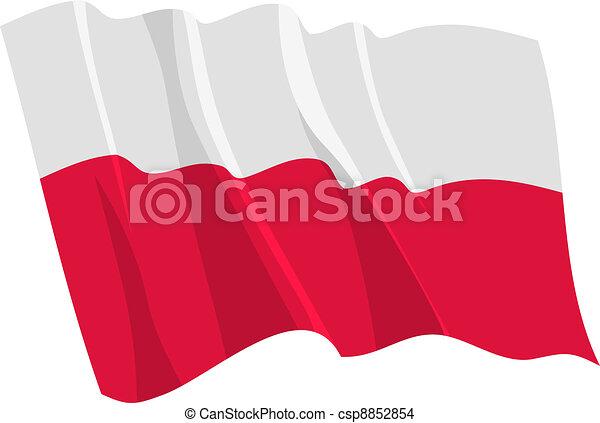 flag of Poland - csp8852854