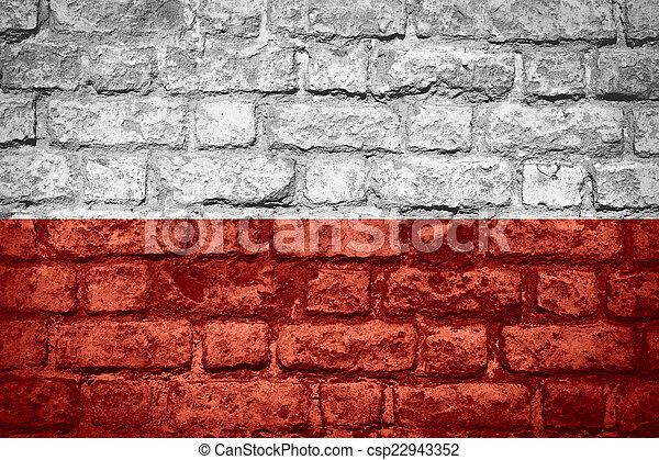 flag of Poland - csp22943352