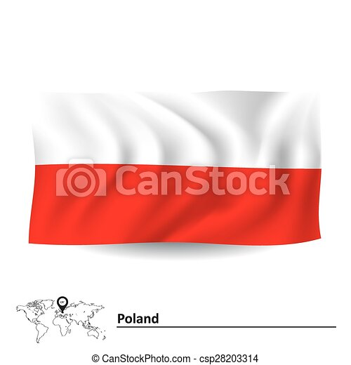 Flag of Poland - csp28203314