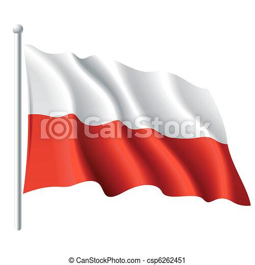 Flag of Poland - csp6262451