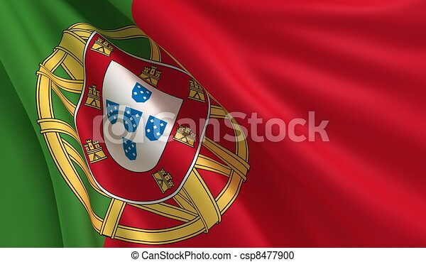 Flag of Portugal - csp8477900