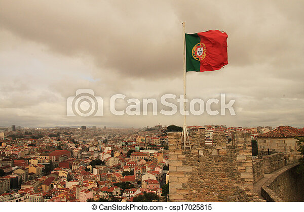 Flag of Portugal - csp17025815