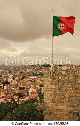 Flag of Portugal - csp17025808