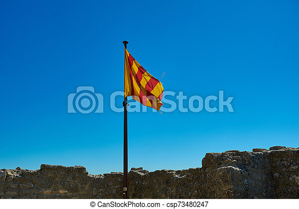 Flag of Provence region of France - csp73480247