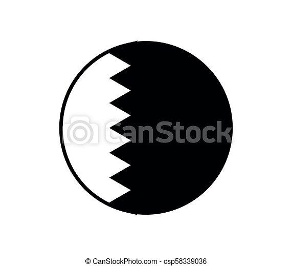 flag of qatar - csp58339036